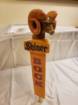 Rare Vintage Shiner Bock Rams Head Beer Tap Handle