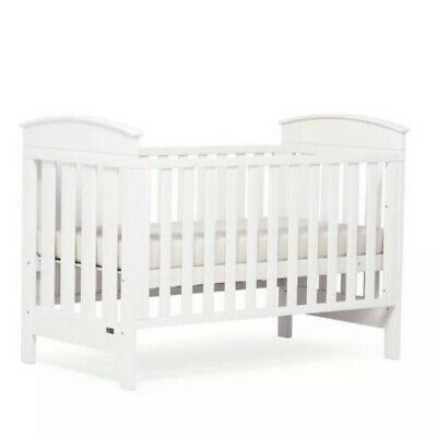 Boori Cot, Mattress & Change Table White - Excellent Condition