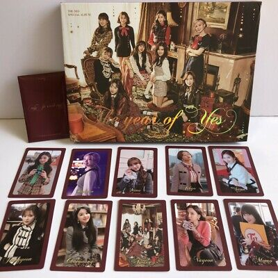 TWICE THE YEARS OF YES-3rd SPECIAL ALBUM CD+PHOTOCARD
