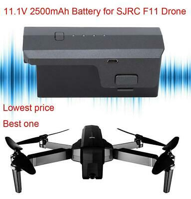 11.1V 2500mAh Lipo Battery For SJRC F11 Drone 5G Wifi FPV RC Quadcopter Part IS