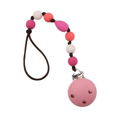 Baby Pacifier Clip Soother Chain Dummy Soother Nipple Leash Strap HY