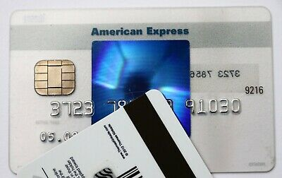 Expired 05/2009 American Express Blue Credit Card Bank Mint