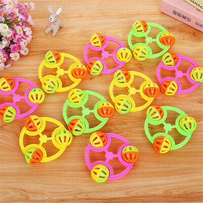 1PC Infant Baby Lovely Bell Rattles Toy Newborn Baby Hand Play Toys G P0CA