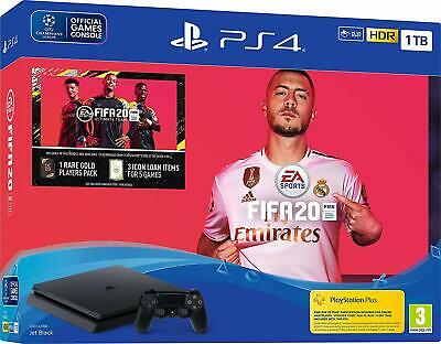 PlayStation 4 1TB Console Black FIFA 20 Brand New Sealed Official PS4 - NEW