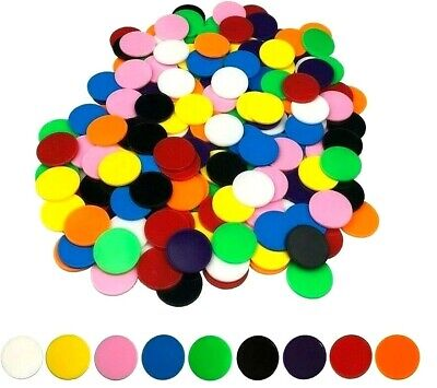 Counters Solid 22mm 200 pieces Maths Games Education Teacher Resources Learning