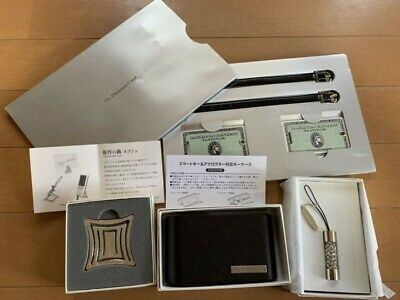 AMEX American Express Platinum Card Set of Novelty Gift for members Rare