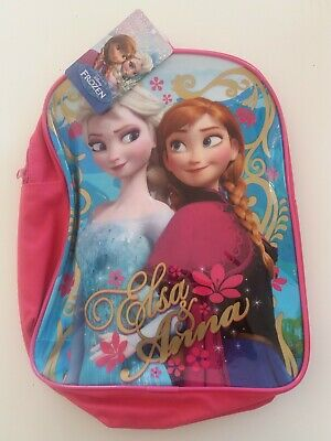Disney Frozen Backpack Bnwt Pink Elsa Anna Christmas Gift stocking filler