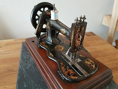 Antique Singer 12k 'New Family' Fiddle Base Sewing Machine ~ WORKING CONDITION!