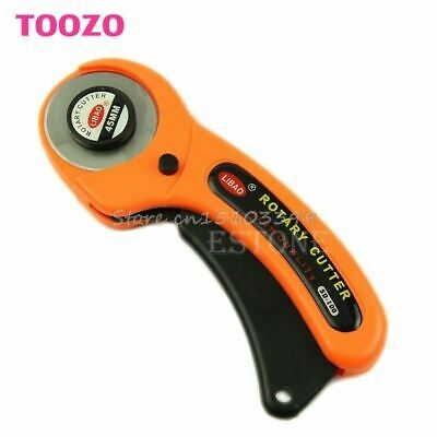 45mm Rotary Cutter Premium Quilters Sewing Quilting Fabric Cutting Craft Tool #G