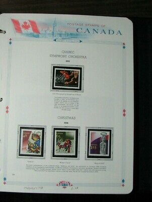 Canada Stamp Scott#  1965-68 Quebec Orchestra & Christmas  2002 MNH L306