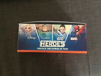 Full Box Sainsburys Heroes Cards Pixar Marvel Disney Star Wars Approx 180 Packs