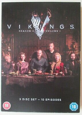 Vikings - Season 4, Volume 1,  3 DVDs IN SLIPCASE, HBO, 2016