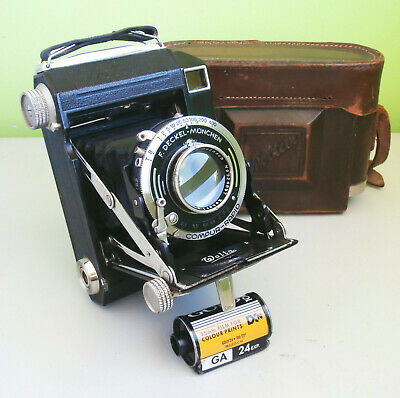 Rare Welta Weltur Rangefinder Folding Camera 6x4.5 with Xenar 7,5cm f2.8 Lens