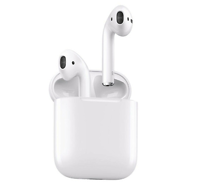 Genuine Apple AirPods 2nd Gen with Wired Charging Case Ear Phones - White