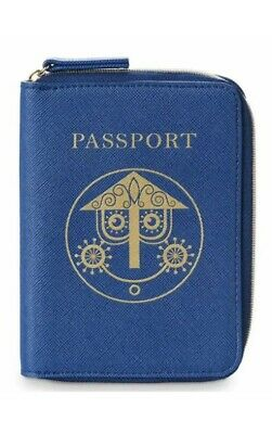 Disney Parks It's A Small World Passport Case Wallet New With Tags