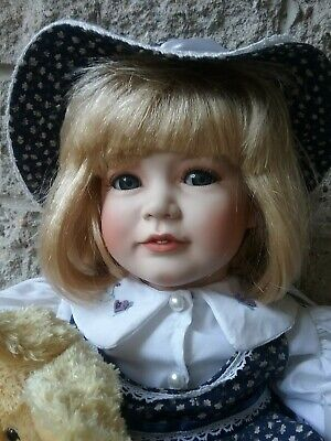 Hillview Lane porcelain doll KASEY. VHTF