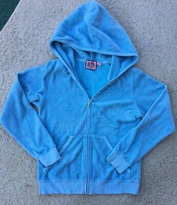 juicy couture Blue Hoodie Girls Size 12