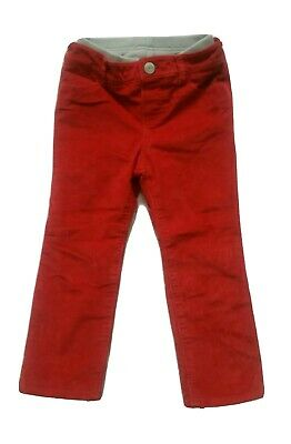 Girls Gap Red Lined Chinos 3 Years