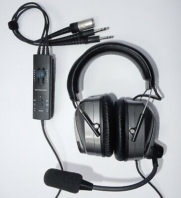 U Fly Quiet UFQ.1 ANR Aviation Headset UFQ A6 hellblau