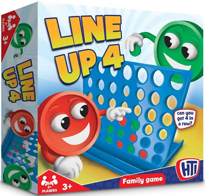 Line Up 4 Connect Four Traditional Family Kids classic Board Game Toy gift