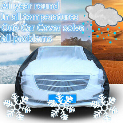 PEVA Extra Large Size XL Full Car Cover UV Protection Waterproof Breathable UK