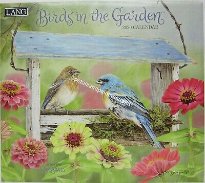 2020 Lang Birds in the Garden Wall Calendar by Jane Shasky Fits Timber Frame