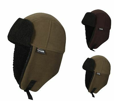 Mens Waterproof Thinsulate Trapper Hat 3M Windproof Thermal Hats, M27