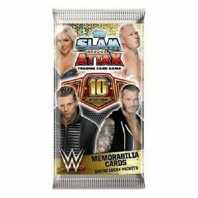 Topps WWE Slam Attax 10th edition Trading Cards