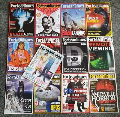 Fortean Times Magazine 2004 Collection Plus Special