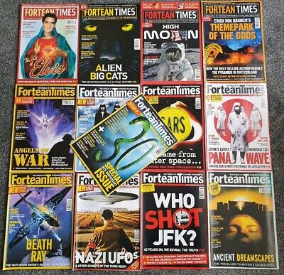 Fortean Times Magazine 2003 Collection Plus Special