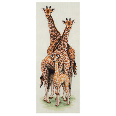 Anchor ~ Counted Cross Stitch Kit ~ Giraffe Family ~ PCE740