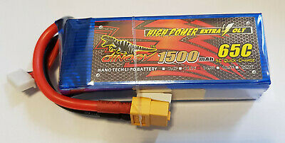 ACEHE 1500mAh 95C 14.8V 4S1P 22.2Wh High Rated Lipo Battery With XT60 Plug♘♙