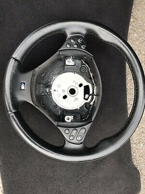 BMW 3 Spoke M Sport Steering Wheel And Airbag E38 E39 E46 E53 X5 Facelift
