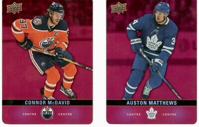 2019-20 Upper Deck Tim Hortons Red Parallel Cards U Pick Free Combined Shipping