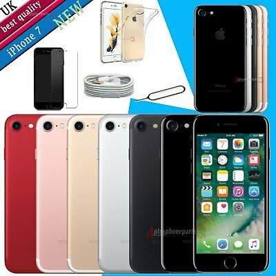 Apple iPhone 7 256GB 128GB 32GB SIM NEW Smartphone Jet Black All Colors Unlocked