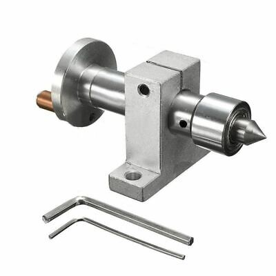 Adjustable Double Bearing Live Revolving Centre DIY For Mini Lathe Machine Woodw