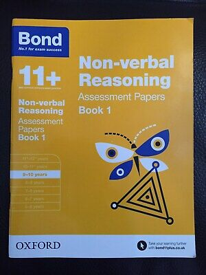 Bond Non-verbal Reasoning Assessment Papers 9-10 years Book 1 ISBN 9780192740243