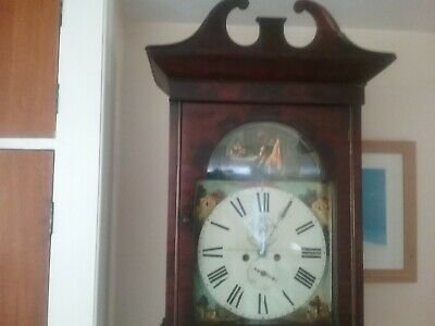 Antique Longcase /Grandfather clock 8 day