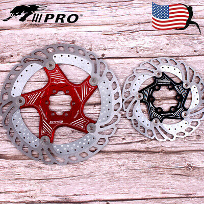 Floating Rotor Brake Disc 160//180//203mm MTB Rotors 420 Stainless Steel Pad  DY