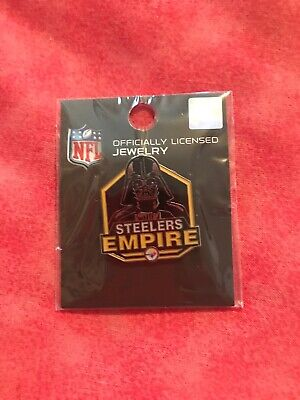 Official Pittsburgh Steelers Star Wars Darth Vader Pin Disney Steelers Empire
