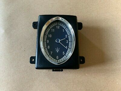 Maserati Quattroporte M139 06 - 08 Dash Air Vent Analogue Clock 223737