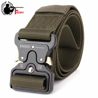 SWAT Military Equipment Knock Off Army Belt Men Heavy Duty US Soldier Combat