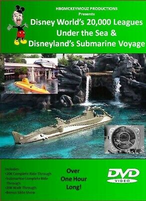 DVD Walt Disney World 20,000 Leagues Under the Sea Ride & Submarine Voyage plus!