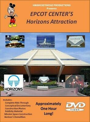 Walt Disney World's EPCOT Center Horizons Attraction DVD plus bonuses