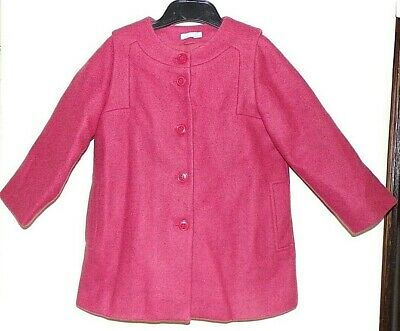 BNWOT pink COS Winter wool COAT/ JACKET age 3 NEW