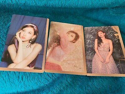Twice FEEL SPECIAL NAYEON - PREORDER CARD SET (3 CARDS)