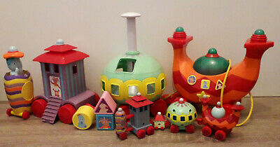 In The Night Garden Large Electronic Ninky Nonk Train And Small Ninky Nonk