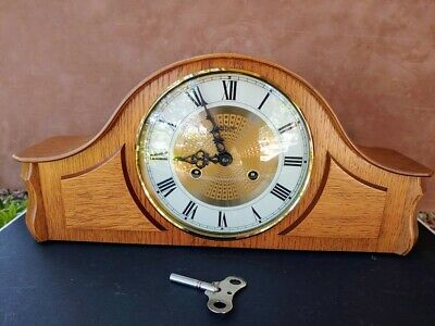 Franz Hermle MANTEL CLOCK with 150-010 Movement