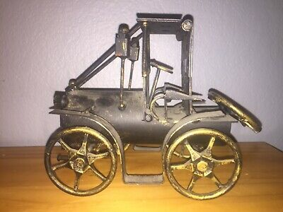 Antique Cast Iron Toy Car 1900s Old Toy