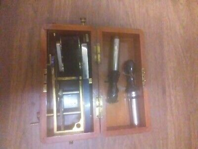 "Antique 1850's Victorian ""Quack Medicine"" Electric Shock Therapy Magneto Machine"